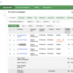 AdWords reports show costs.